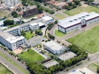 Vista aérea do Campus I de Cianorte