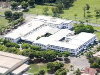 Vista aérea do Campus I de Guaíra