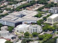 Vista aérea do Campus Sede de Umuarama