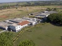 Vista aérea do Hospital Veterinário